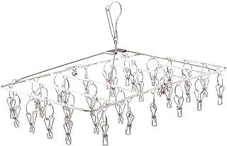 アイリスオーヤマ ステンレスピンチハンガー 洗濯ハンガー 洗濯 物干し 32ピンチ オールステンレス サビにくい 室内外両用 落ちにくい 回転式 PIH-32SH