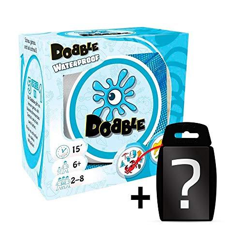 Dobble Waterproof   DEUTSCH   Set inkl. Kartenspiel