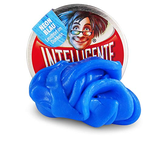 Intelligente Knete kleine Dosen (Klein Neon Blau) BPA- und glutenfrei