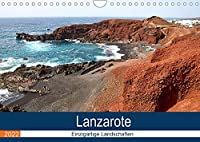 Lanzarote - Einzigartige Landschaften (Wandkalender 2022 DIN A4 quer): Von Vulkanen gepraegt (Monatskalender, 14 Seiten )