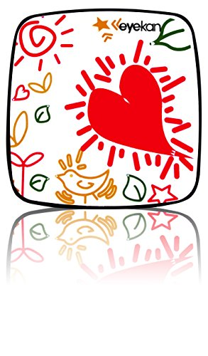 Aufbewahrungsbox für Kontaktlinsen - Reiseset - Box - Herz - Süß