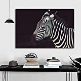 yaonuli Zebra Kunst Tier Bild Poster und Leinwanddrucke