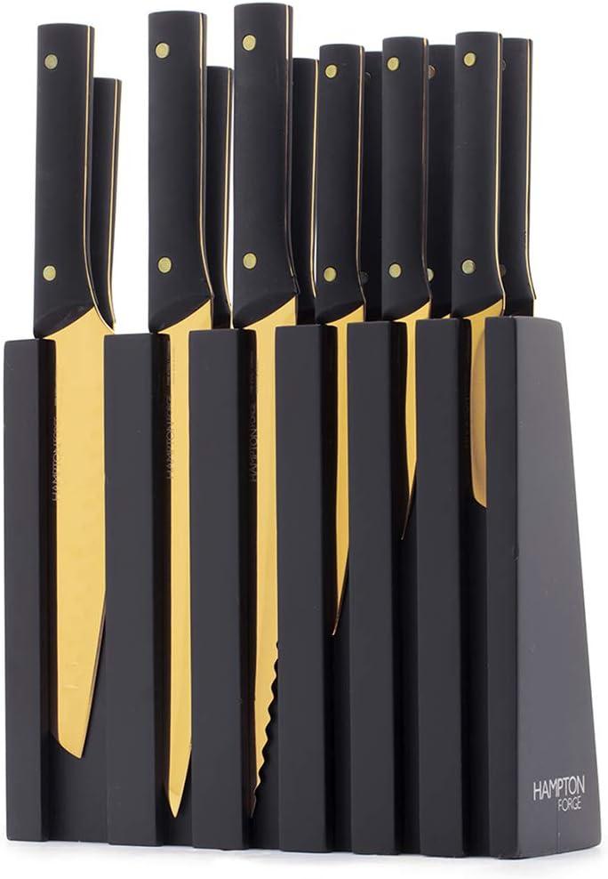 COMMUNITY PLATE HAMPTON COURT SET of 3 DINNER KNIVES SUPREME CONDITION!