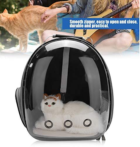 YSG Mochila portátil Cat Capsule Space Bolsa de Transporte Transparente para Jaula de Mascotas Transpirable Portadores y cochecitos Negros de Hogar y Jardín en AliExpress