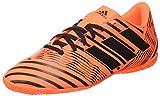 adidas Nemeziz 17.4 IN, Zapatillas de Fútbol Hombre, Multicolor (Solar Orange/Core Black), 39 1/3 EU