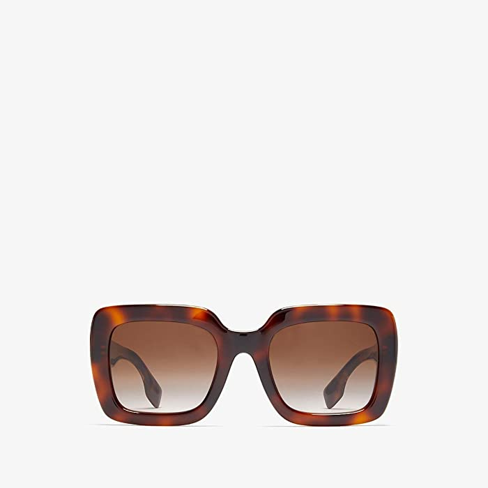 Burberry  0BE4284 (Light Havana/Brown Gradient) Fashion Sunglasses