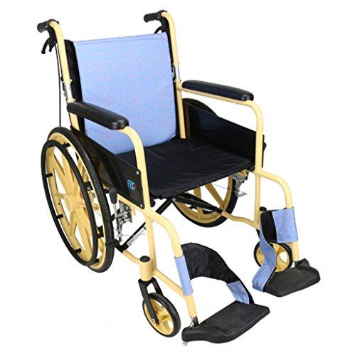 Big seller Kinderrollstühle Zurück faltender Rollstuhl, Wasserdichtes hinteres Kissen, Aluminiumlegierung, übergroßer Reifen