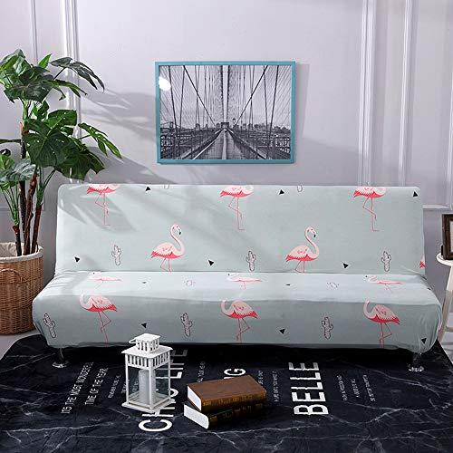 Funda para sofá Cama, Elástica, Antideslizante, Estampada Fundas Sofa Click Clack Funda Protectorapara Sofá Plegable Decoración de la Sala de Estar Color 22 160-190cm