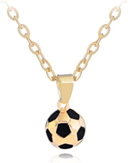 DiamondJewelryNY 14kt Gold Filled St Christopher//Soccer Pendant