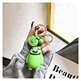 yywl Schlüsselbund Neue Kleinvögel Action Figuren Keychain Nette Modell Anhänger Dekorationen Freundin Geschenke Kreative Anime Accessorie Schlüsselanhänger (Color : Green)