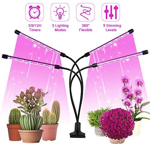 LED de lámpara de planta, luz de crecimiento de luz LED de planta, 4