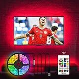 LED TV Hintergrundbeleuchtung für Fernseher 55 60 Zoll TV LED Streifen USB TV Backlight (60 Zoll,...