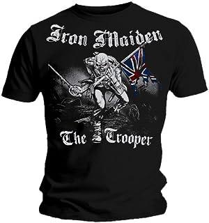 Producto oficial de T-camiseta de manga corta de IRON MAIDEN filigrana Vintage Katrina Hawkins TROOPER Eddie todos los tamaños