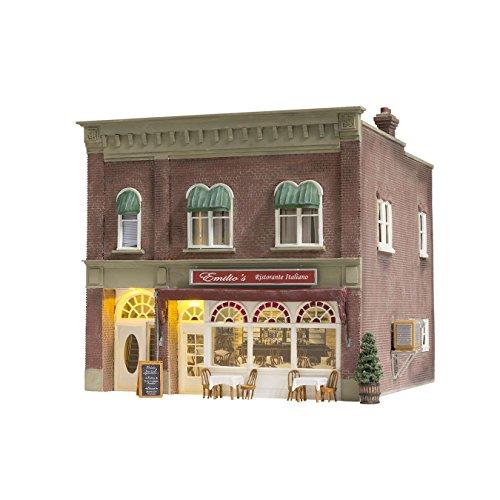 Woodland Scenics N Scale Emilio's Italian Restaurant