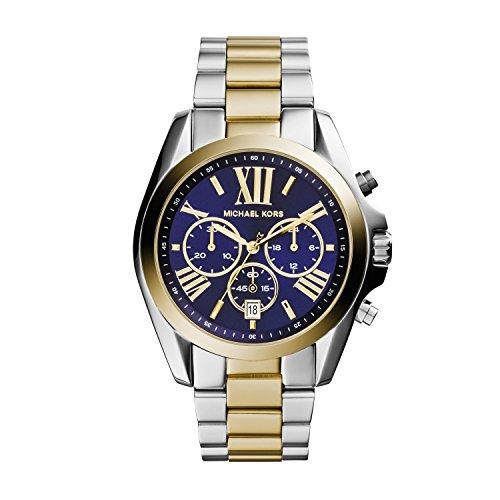 Michael Kors Orologio Cronografo Quarzo Donna con Cinturino in Acciaio Inossidabile MK5976
