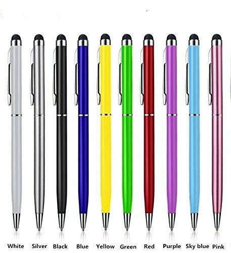 10 bolígrafos de pantalla táctil para iPhone, iPad, pestañas, teléfonos Android #23