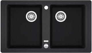 Franke Küchen-Spüle Basis BFG 620 114.0301.373 - Fragranit Onyx