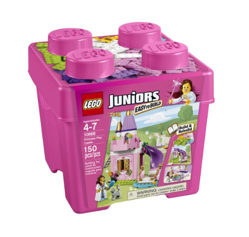 LEGO Juniors 10668 The Princess Play Castle Toy, Kids, Play, Children by Games 4 Kids