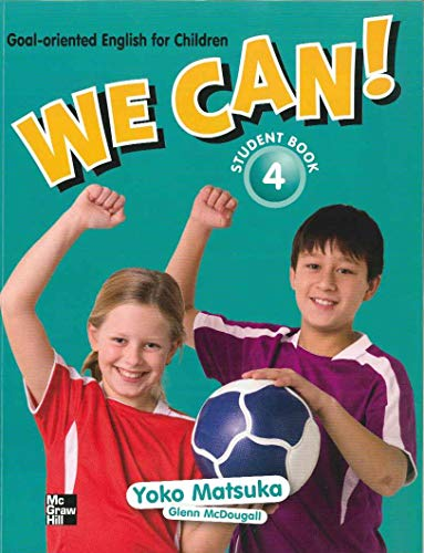 We Can! 生徒用テキスト4 / Student book 4