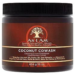 no suds shampoo ~ coconut cowash