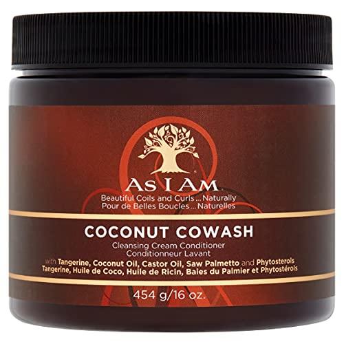 Kokosnoot Reiniging CoWash Conditioner van As I am, 454 g.