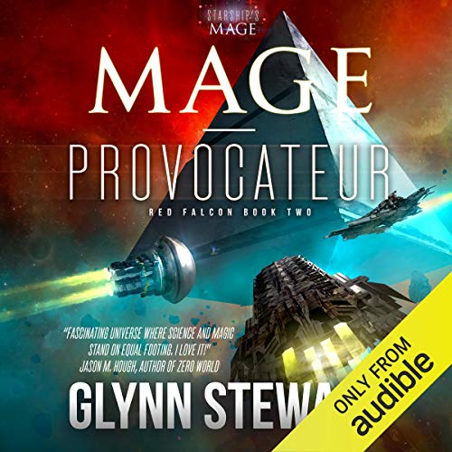Mage-Provocateur audiobook cover art