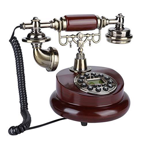 01 Teléfono, teléfono Línea de teléfono Fijo con función de Pausa/remarcación para Hotel para Oficina en casa