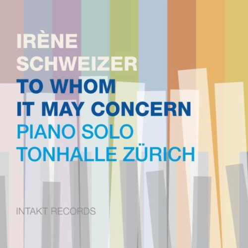 To Whom It May Concern - Piano Solo Tonhalle Zürich