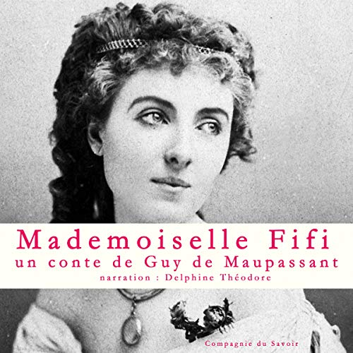 Mademoiselle Fifi audiobook cover art