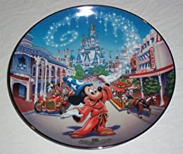 Bradford Exchange Walt Disney World 25th Anniversary Main Street U.S.A.