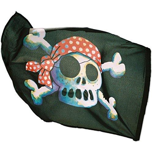 Lutz Mauder 15002 große Piraten-Flagge, 60 x 90 cm