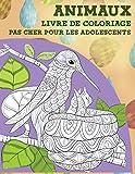 Livre de coloriage - Pas cher pour les adolescents - Animaux