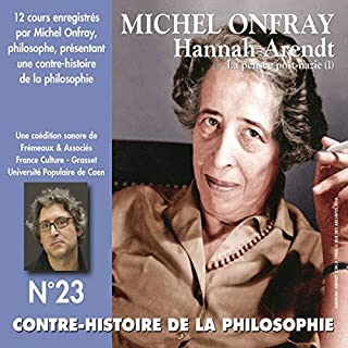 Hannah Arendt. La pensée post-nazie 1 audiobook cover art