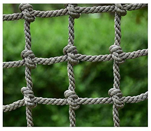 ZTMN Kinderveiligheidsnet, Klimnetten voor Kinderen Lading Nylon Touw Ladder Kinderen Anti-val Veiligheid Netwerk Tuin Omheining Mesh Balkon Banister Trapbescherming Net