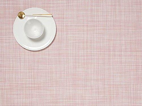 Chilewich Mini Basketweave Tischset, Blush, 36 x 48 cm