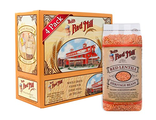 Bob's Red Mill Red Lentils, 27 Ounce (Pack of 4)