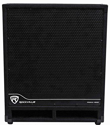 "Rockville RBG18S 18"" 2000W Active Powered PA Subwoofer W/Dsp+Limiter Pro/DJ"
