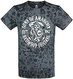Sons of Anarchy Redwood Original Camiseta Azul/Negro L