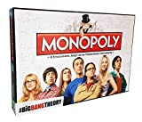 Eleven Force Monopoly The Big Bang Theory (Edición en Castellano), multicolor