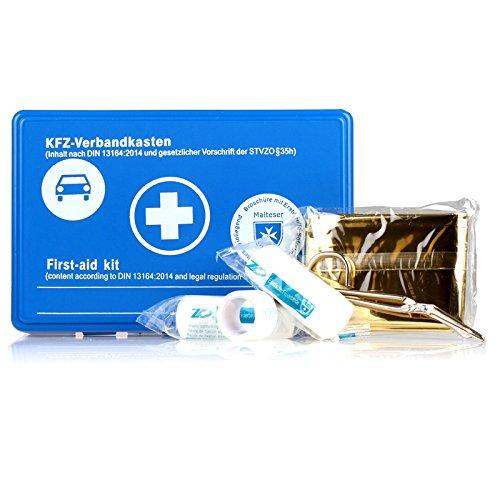 alca® 750000 Verbandskasten Notfallset nach DIN 13164-2014
