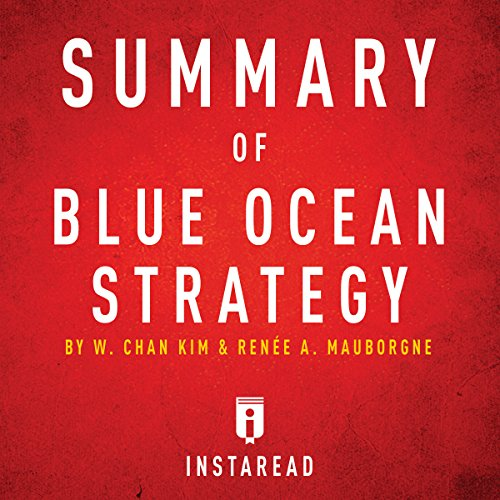 Summary of Blue Ocean Strategy by W. Chan Kim and Renée A. Mauborgne audiobook cover art
