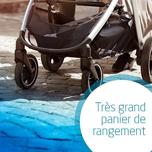 Bébé Confort Zelia, Poussette naissance, citadine et légère, assise transformable en nacelle, de...