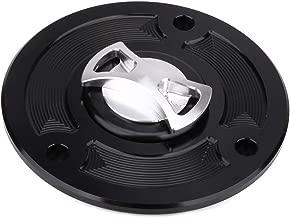AnXin Motorcycle Gas Fuel Tank Cover Twist off CNC Aluminum Billet Keyless Cap For KTM Duke 125 2011 2012 2013 2014 2015 2016 Duke 200 2012-2016 Duke 390 2013-2014