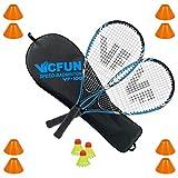 VICFUN Speed Badminton Set Speed Badminton 100 Set field