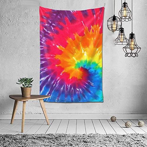 Tapiz Tapiz Tie-Dye Tapiz para colgar en la pared para dormitorio (60 * 40 pulgadas)