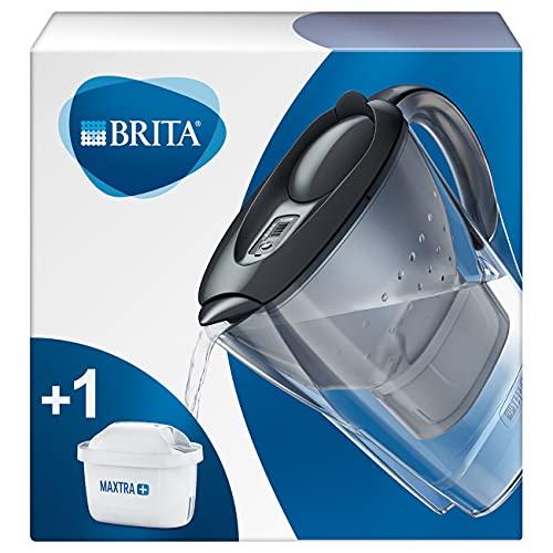 BRITA - Caraffa filtrante Marella, Grafite, 26.0 x 9.0 x 25.0 cm