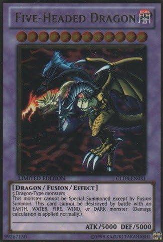 five headed dragon gold rare starlight