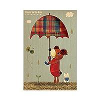 大原そう ファブリックパネル Singin' in the Rain Z3K