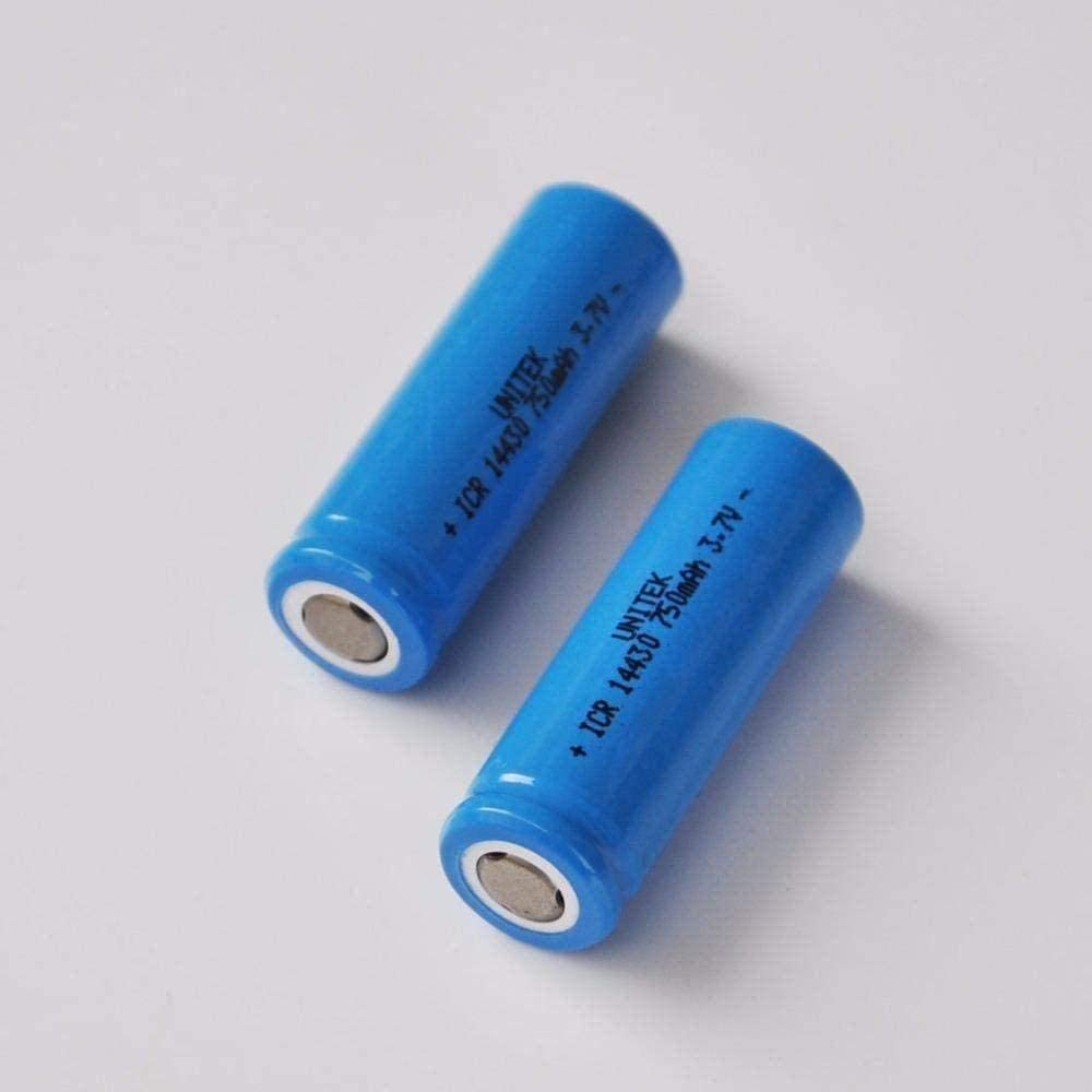 3.7V 35% OFF Clearance SALE! Limited time! Lithium ion Rechargeable Battery 14430 5AA li-ion ba 4 Cell