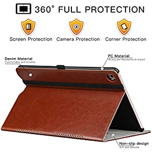 ZtotopCase Huawei MediaPad M5 /M5 Pro 10.8 Case, Premium Leather Business Stand Folio Cover with Auto Wake/Sleep…